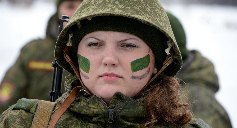 Ogólnorosyjski konkurs dla kobiet w armii.