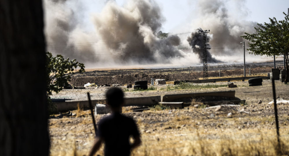 Wybuchy na granicy turecko-syryjskiej