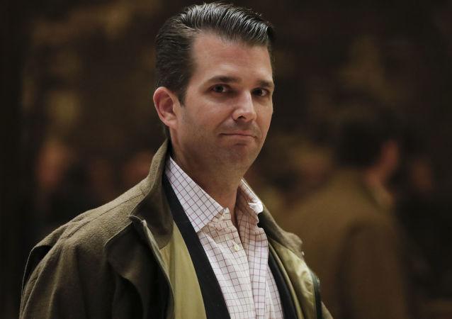 Najstarszy syn prezydenta elekta Stanów Zjednoczonych Donald Trump Jr.