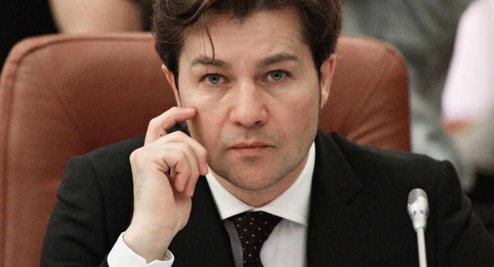 Minister kultury Ukrainy Jewhenij Niszczuk