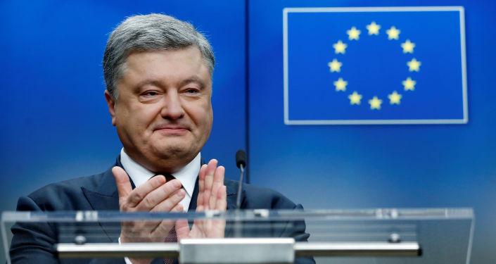 Prezydent Ukrainy Petro Poroszenko na szczycie UE-Ukraina w Brukseli