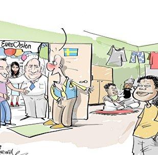 Szwecja gości cały świat