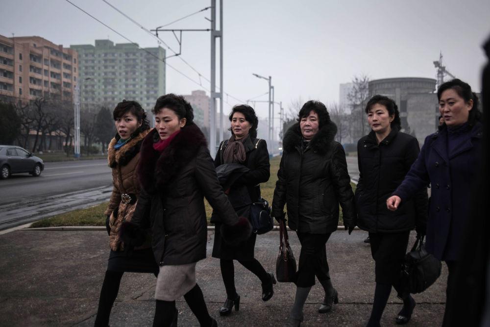 Mieszkanki Pjongjangu