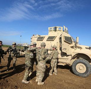 Wojska USA w północnej Syrii