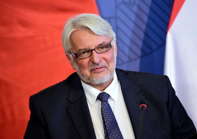 Szef polskiego MSZ Witold Waszczykowski