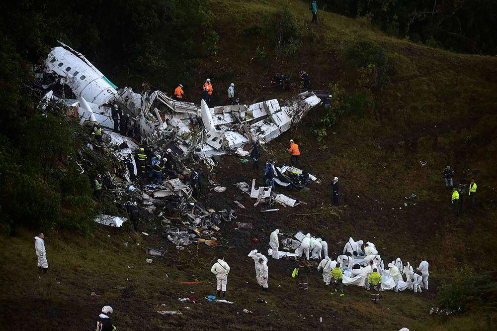 We wtorek w Kolumbii rozbił się samolot.