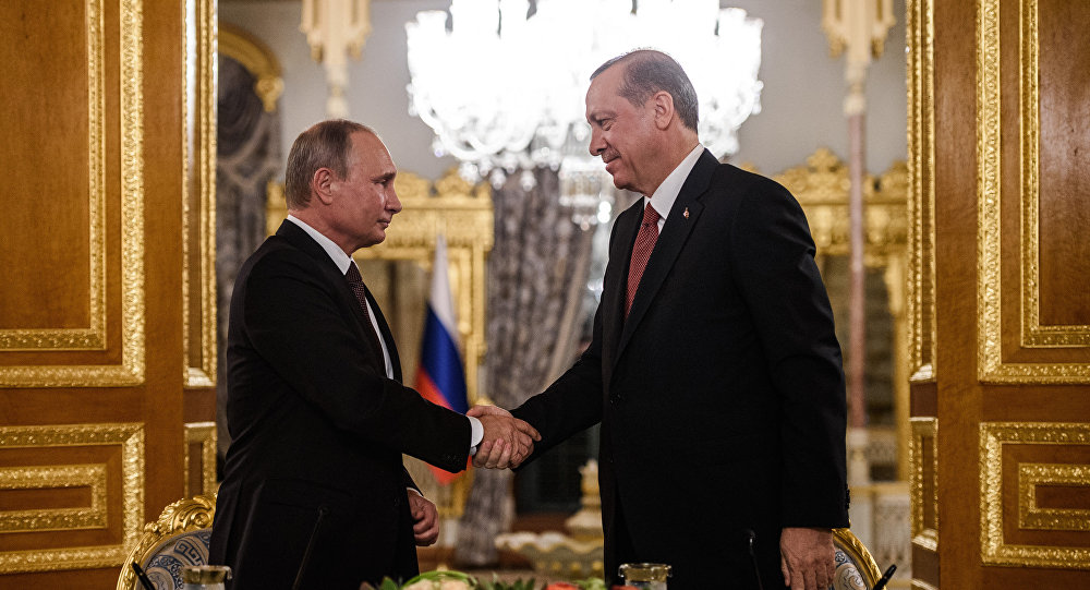 Władimir Putin i Recep Tayyip Erdogan