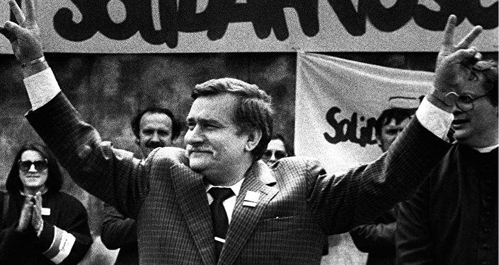 Solidarnosc, 7 maja 1989, zdjęcie z archiwum