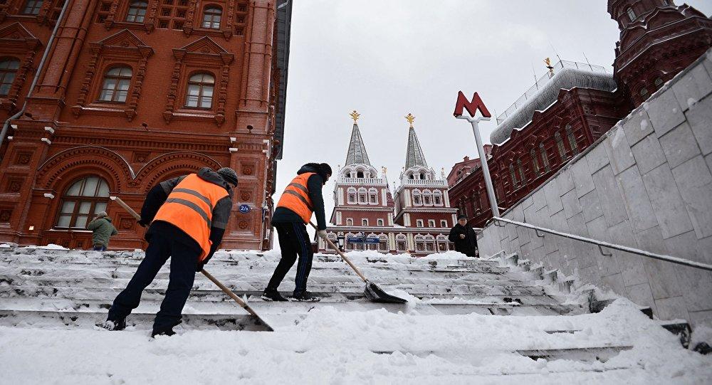 W Moskwie już drugi miesiąc króluje zima