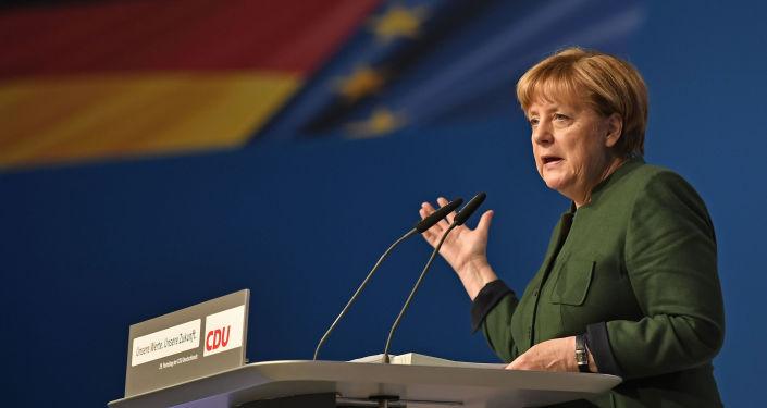 Angela Merkel. Zjazd Unii Chrześcijańsko-Chadeckiej