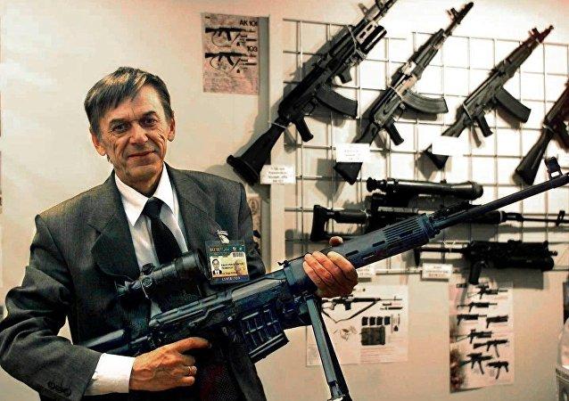 Wiktor Kałasznikow, syn twórcy legendarnej broni
