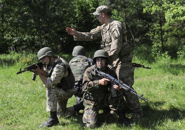 Manewry z udziałem amerykańskich żołnierzy w obwodzie lwowskim