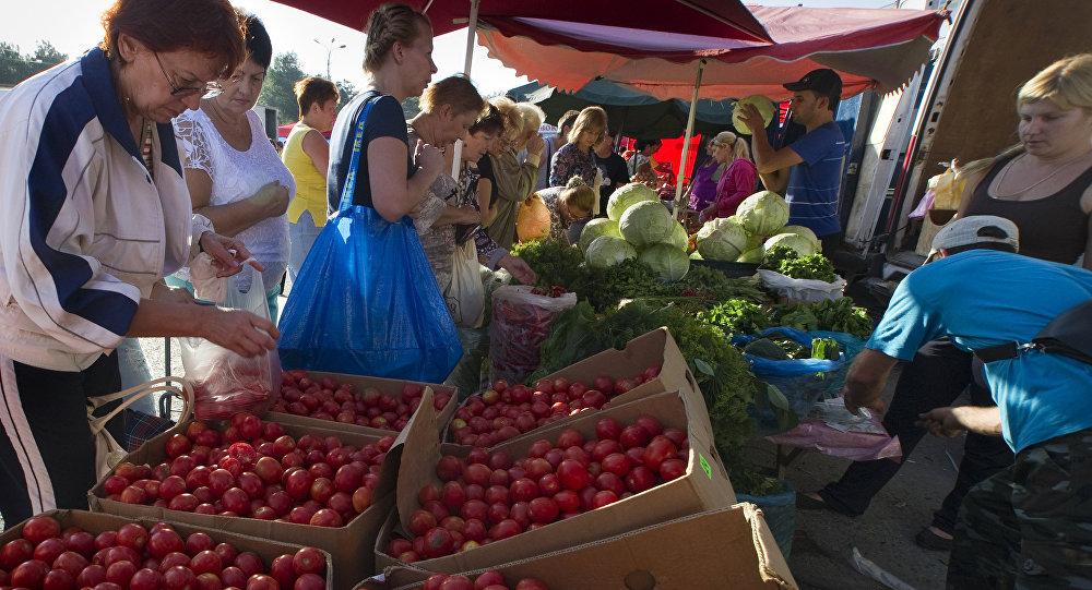 Rynek w Symferopolu