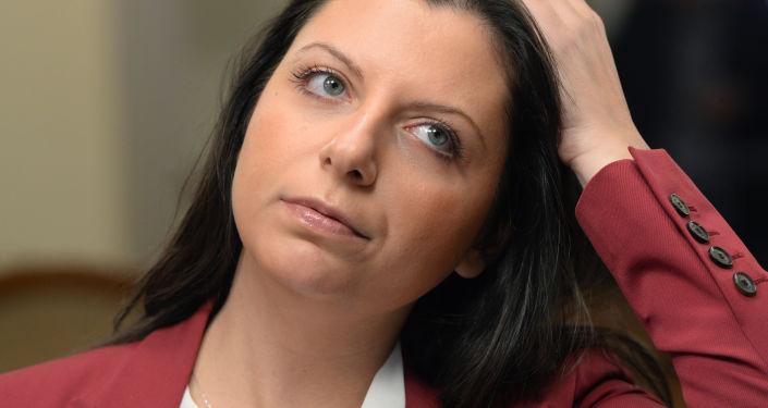 Redaktor naczelna Międzynarodowej agencji informacyjnej Rossija Segodnia Margarita Simonian