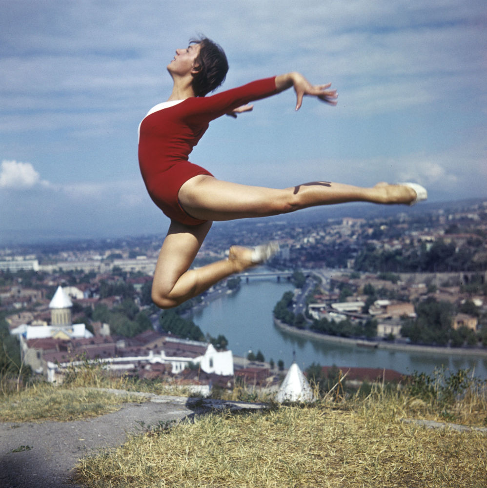 Gimnastyczka nad Tbilisi, 1974 rok