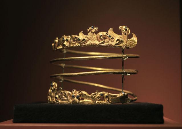 Eksponaty wystawy Krym: złoto i tajemnice Morza Czarnego w Amsterdamie