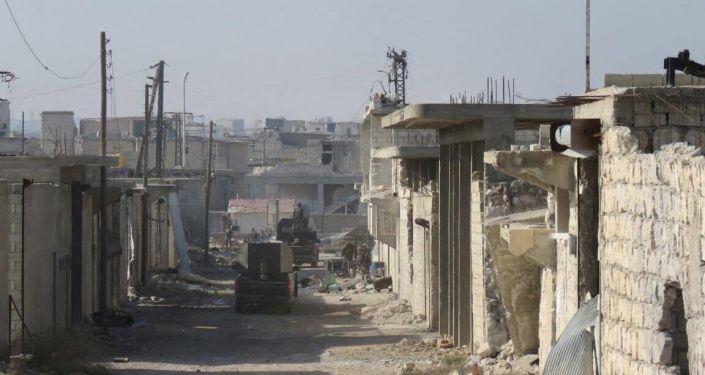 Wyzwolone kwartały wschodniego Aleppo