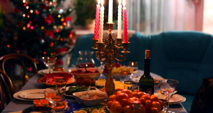 Noworoczny stół