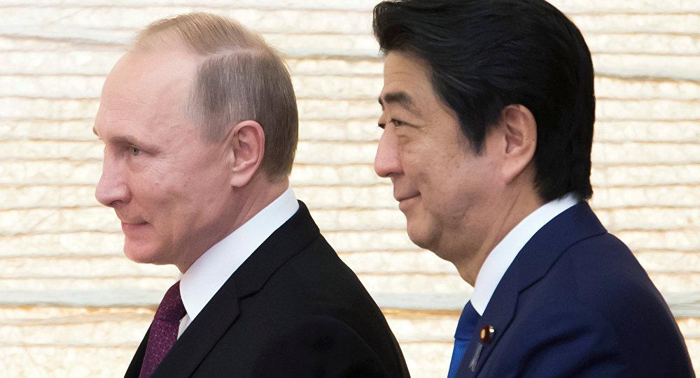 Władimir Putin i Shinzo Abe, 16.12.2016.
