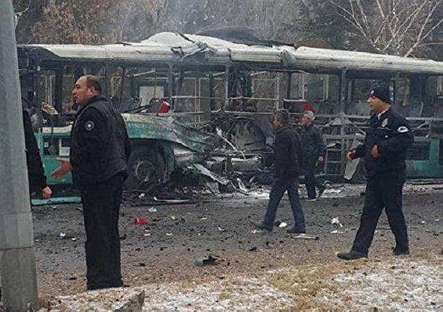 Zamach w tureckiej Kayseri
