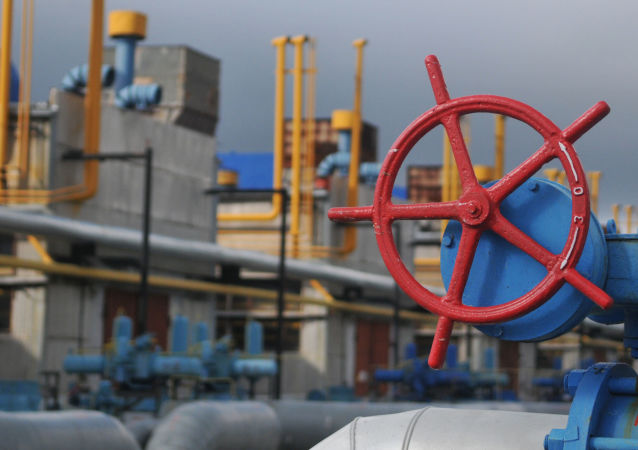 Tłocznia gazu Wołowiec w obwodzie zakarpackim na Ukrainie