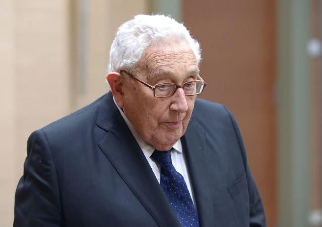 Były sekretarz generalny USA Henry Kissinger