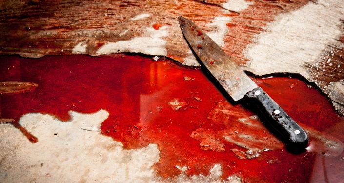 Nóż w krwi