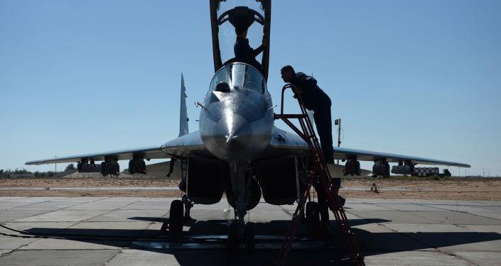 Wielozadaniowy rosyjski myśliwiec MiG-29