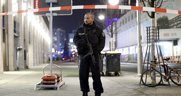 Policja w Berlinie