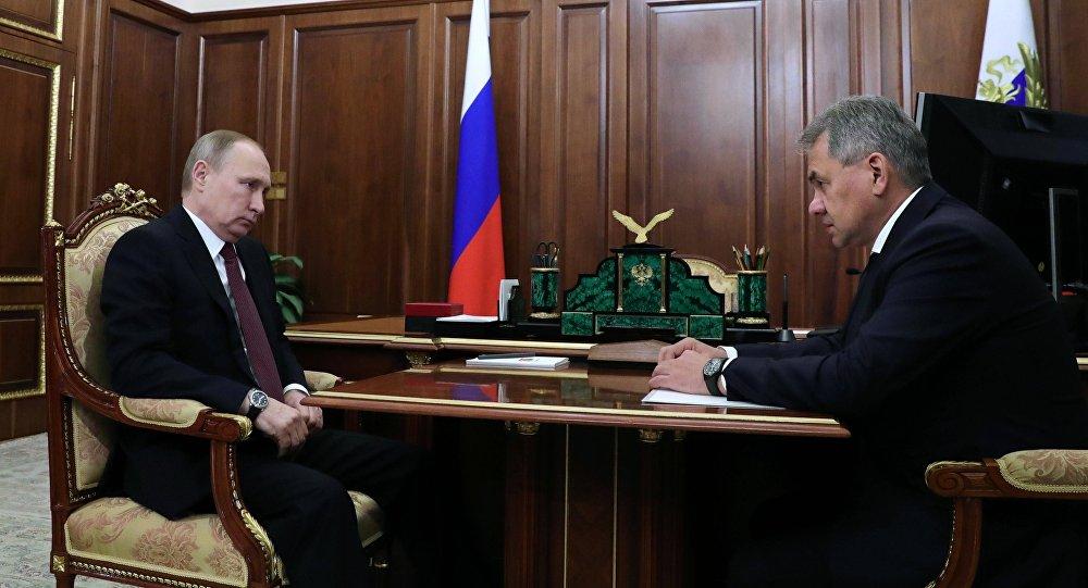 W. Putin spotkał się z Ministrem Obrony Rosji S. Szojgu
