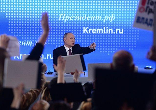 Doroczna konferencja prasowa Władimira Putina