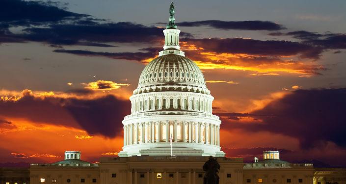 Budynek Kapitolu. Waszyngton