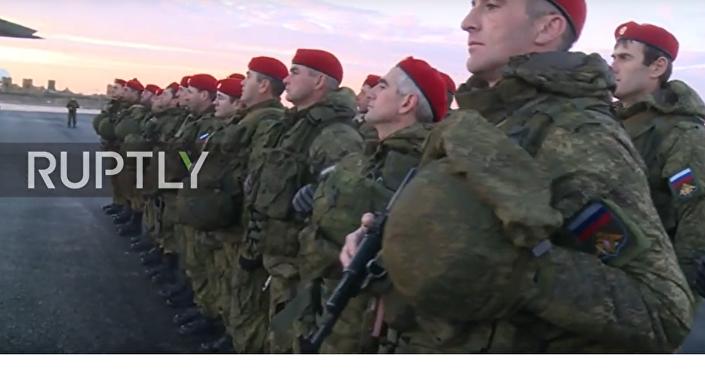 """Rosyjskie """"Czerwone Berety będą strzec bezpieczeństwa w Aleppo"""