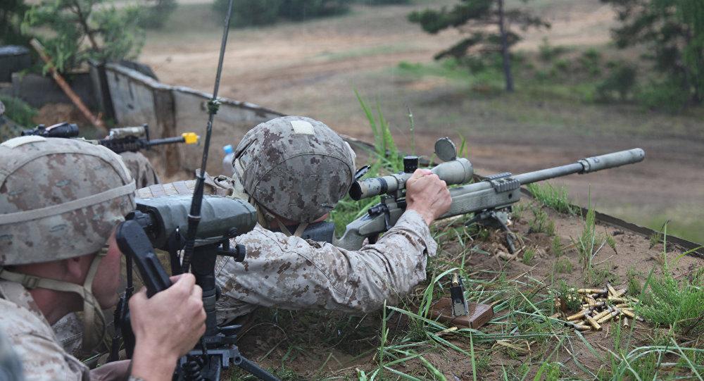 Ćwiczenia wojskowe Saber Strike, Łotwa, czerwiec 2012 roku