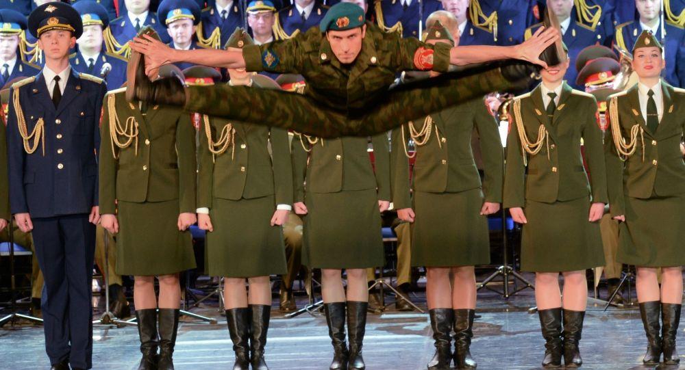 Występ Chóru Aleksandrowa w Soczi