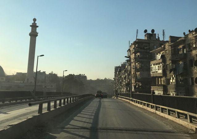 Wschodnie Aleppo, Syria