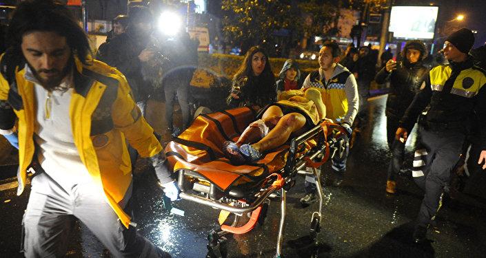 Do ataku doszło w klubie Reina w dzielnicy Ortakoy