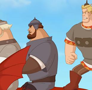 Trzej bohaterowie i Car Morski