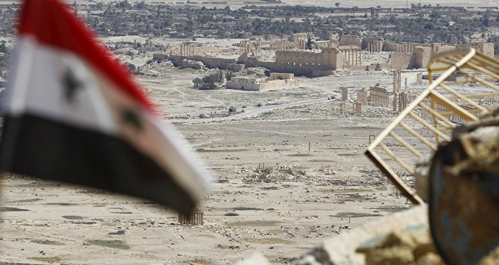 Syryjska armia w Palmirze