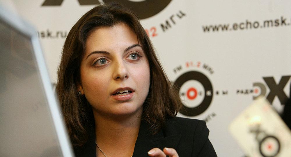 Redaktor naczelna RT Margarita Simonian