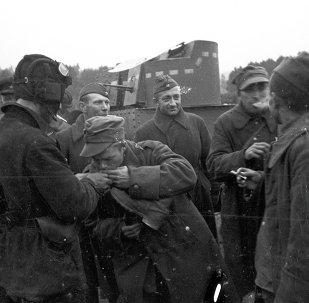 Polscy i radzieccy żołnierze na Białorusi, rok 1944