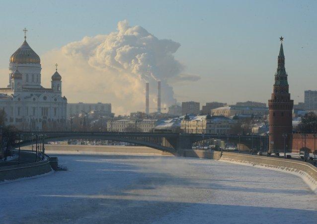 Silne mrozy w Moskwie