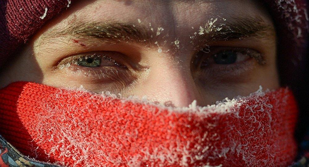 Drugi zimowy maraton rowerowy w Moskwie