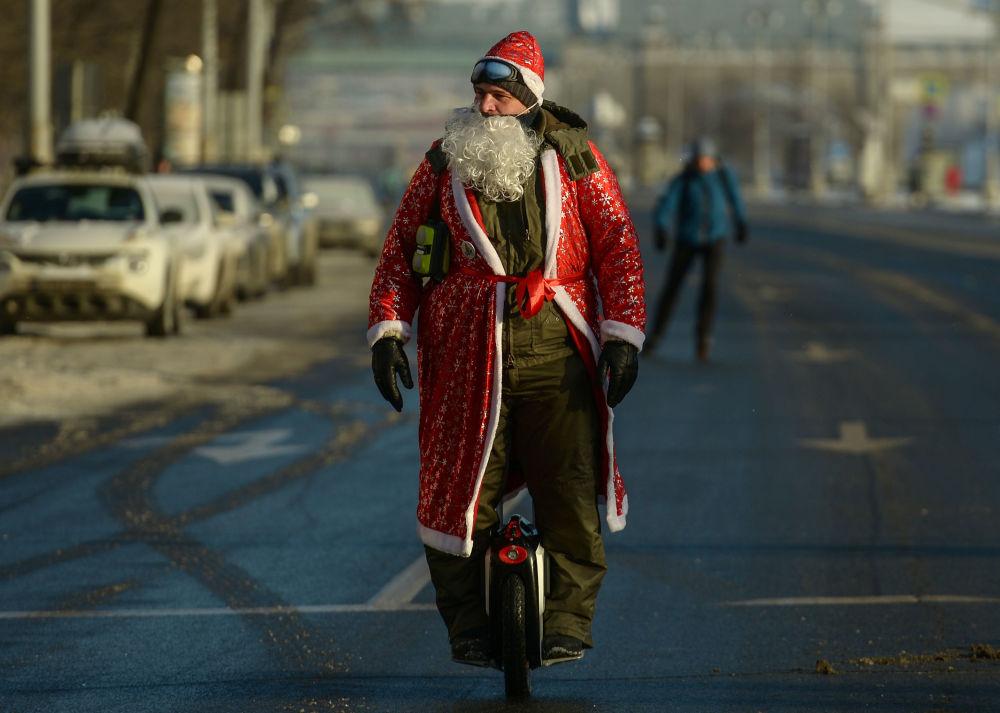 II Moskiewska Zimowa Parada Rowerzystów