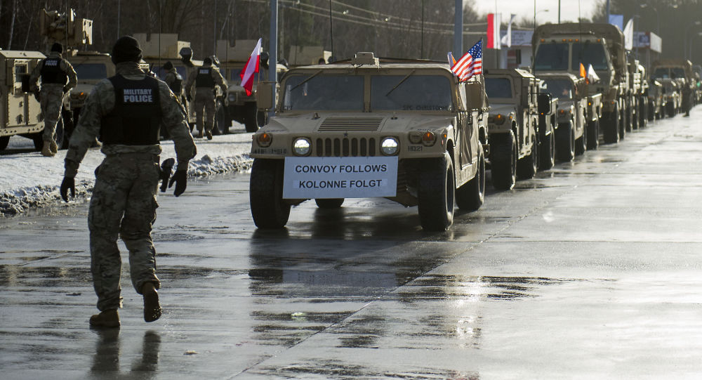 Amerykańska technika wojenna w Polsce, operacja Atlantic Resolve, Olszyna