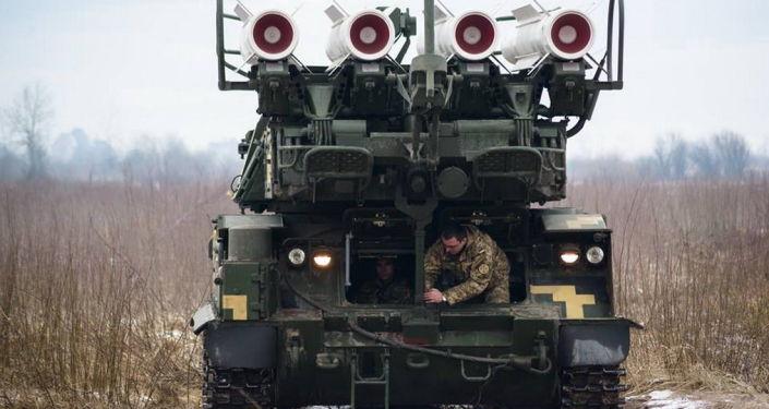 Pododdziały Wojsk Obrony Przeciwlotniczej Ukrainy przeprowadziły ćwiczenia taktyczno-specjalne w obwodzie  chersońskim, przy granicy z Krymem