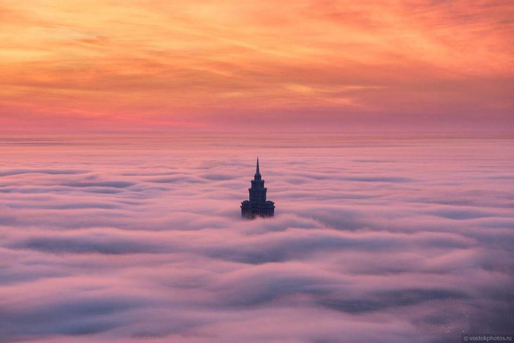 Wieżowiec Triumf-Pałas w Moskwie