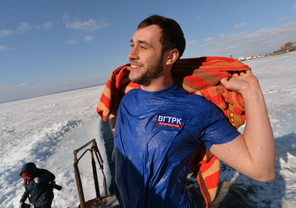Klub miłośników pływania zimowego Mors we Władywostoku