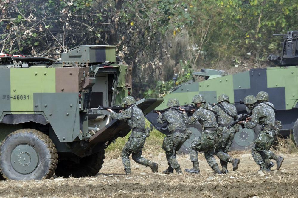 Ćwiczenia wojskowe w Cieśninie Tajwańskiej 2017