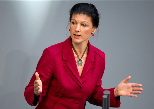 Niemiecka polityk Sahra Wagenknecht